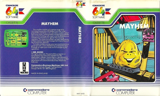 Commodore-C64-Mayhem