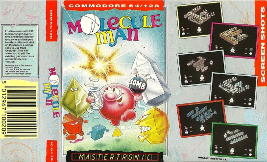 Commodore-C64-Molecule-Man