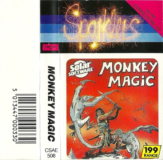 Commodore C64 Monkey Magic