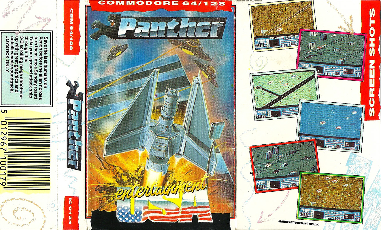Commodore-C64-Panther | Retro Video Gaming