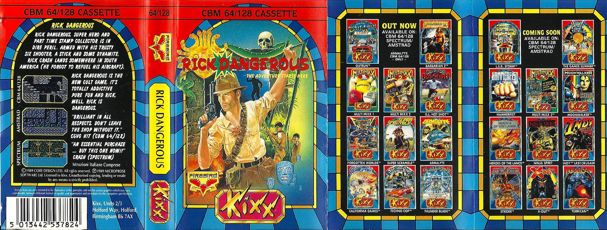 Commodore-C64-Rick-Dangerous | Retro Video Gaming