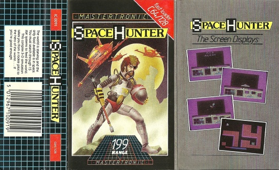 Commodore-C64-Space-Hunter