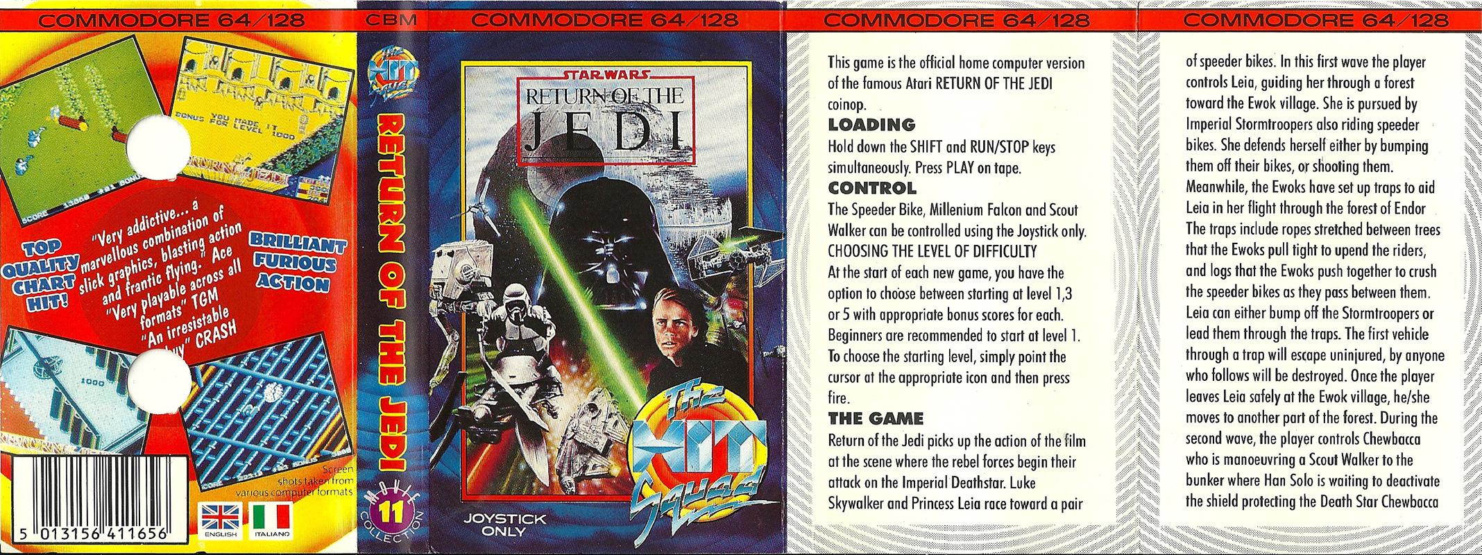 Commodore-C64-Star-Wars-Return-of-the-Jedi | Retro Video Gaming