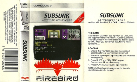 Commodore-C64-Subsunk