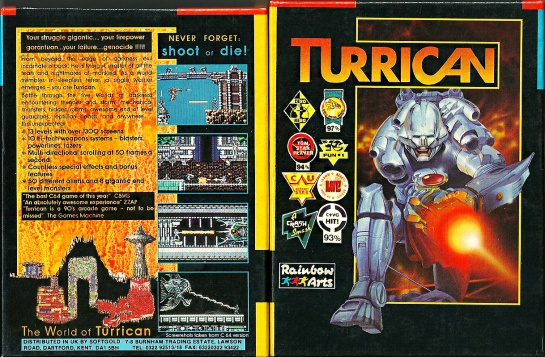 Commodore-C64-Turrican