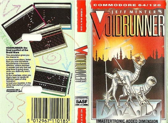 Commodore C64 Voidrunner
