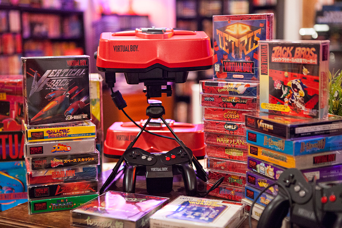 stopXwhispering's Virtual Boy collection