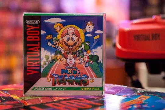 Mario's Tennis (マリオズテニス) - Virtual Boy