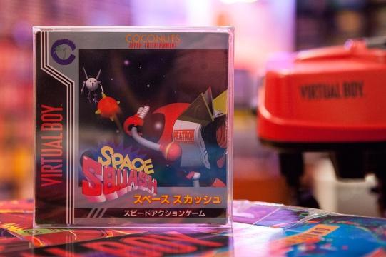 Space Squash (スペース スカッシュ) - Virtual Boy