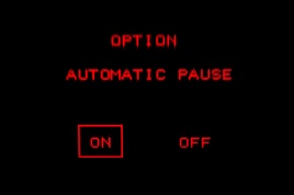 Virtual Boy screenshot - Automatic pause