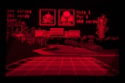 Virtual Boy Screenshot - Golf gameplay
