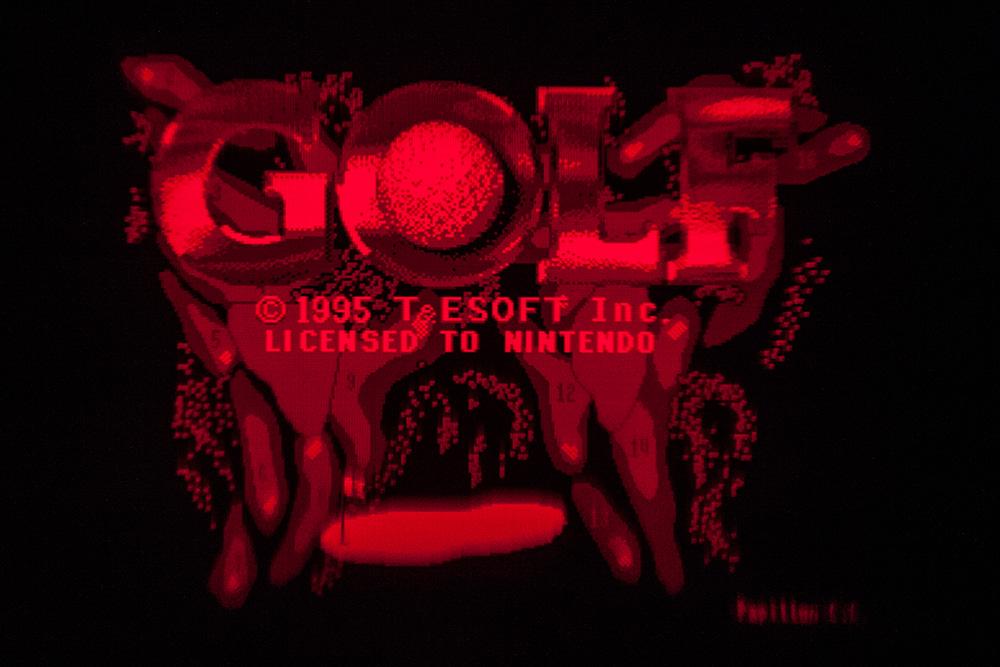 Virtual Boy Screenshot - Golf