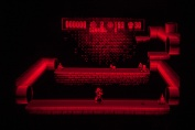 Virtual Boy Screenshot - Mario Clash gameplay