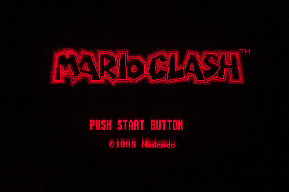 Virtual Boy Screenshot - Mario Clash