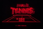 Virtual Boy Screenshot - Mario's Tennis