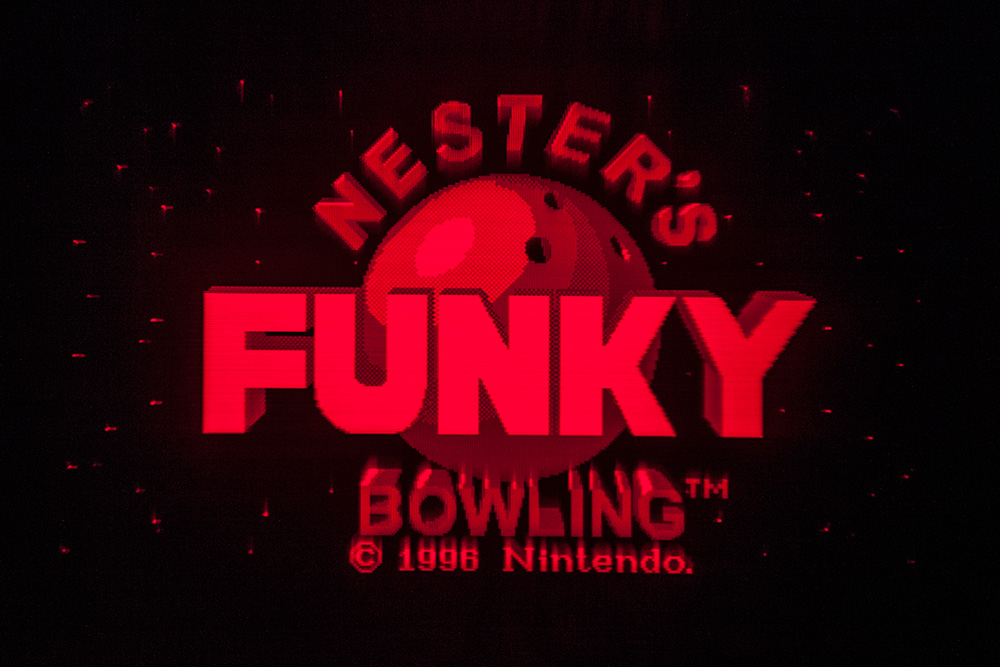 Virtual Boy Screenshot - Nester's Funky Bowling