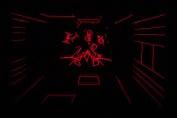 Virtual Boy Screenshot - Red Alarm gameplay