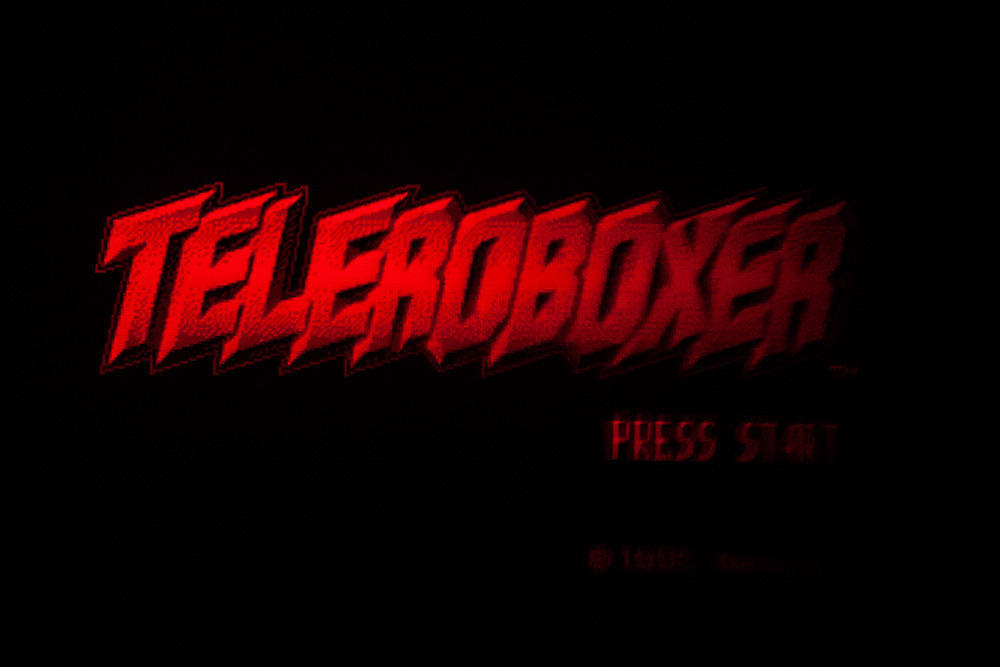 Virtual Boy Screenshot - Teleroboxer