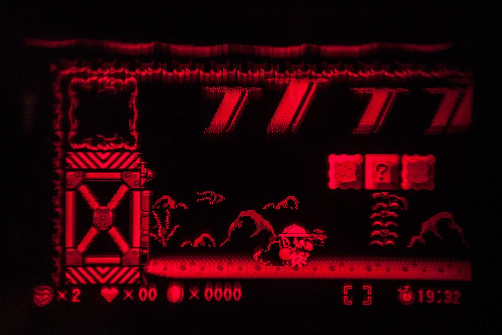 Virtual Boy Screenshot - Warioland gameplay