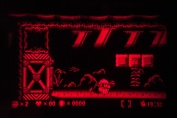Virtual Boy Screenshot - Warioland gameplay