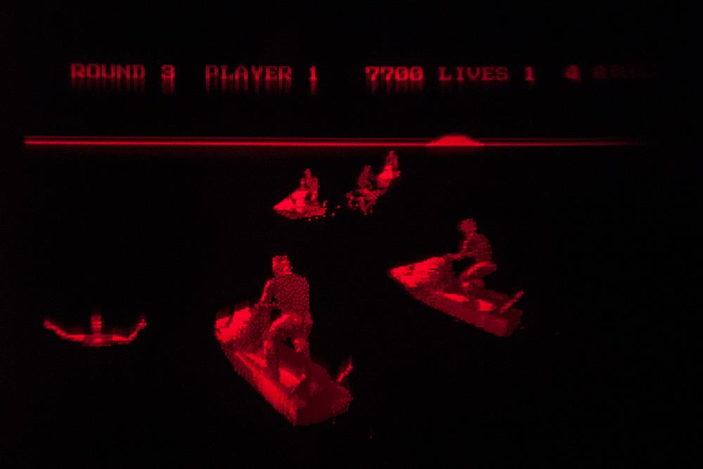 Virtual Boy Screenshot - Waterworld gameplay