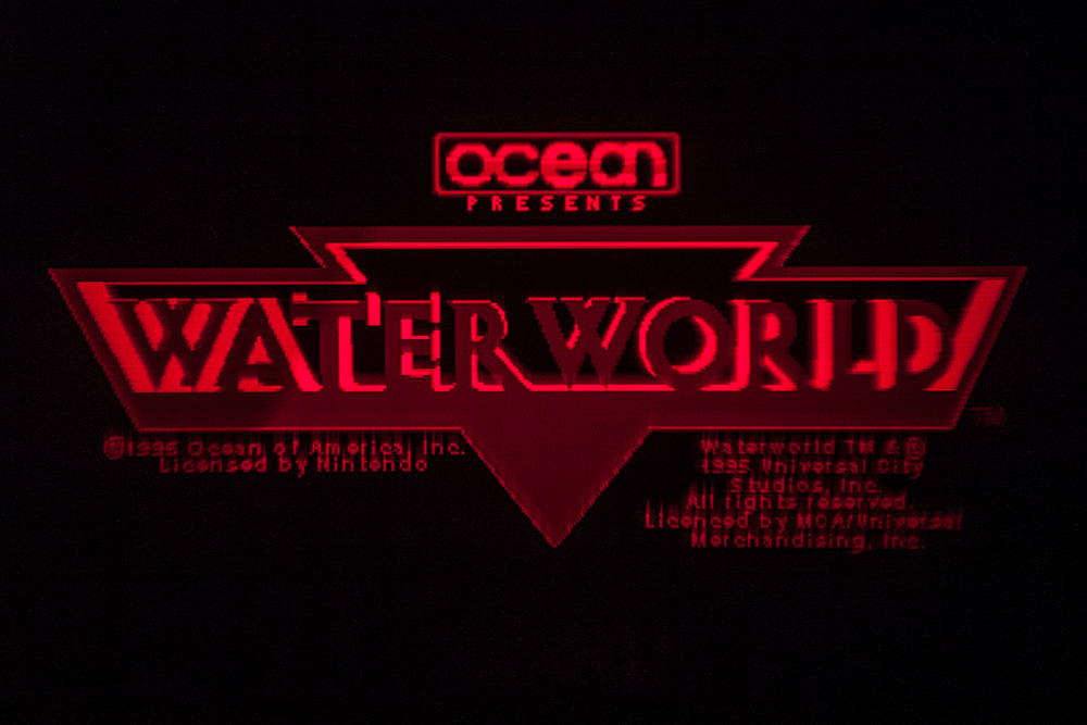 Virtual Boy Screenshot - Waterworld