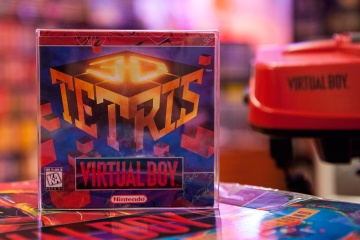 3D Tetris - Virtual Boy