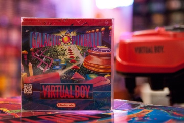 Galactic Pinball - Virtual Boy
