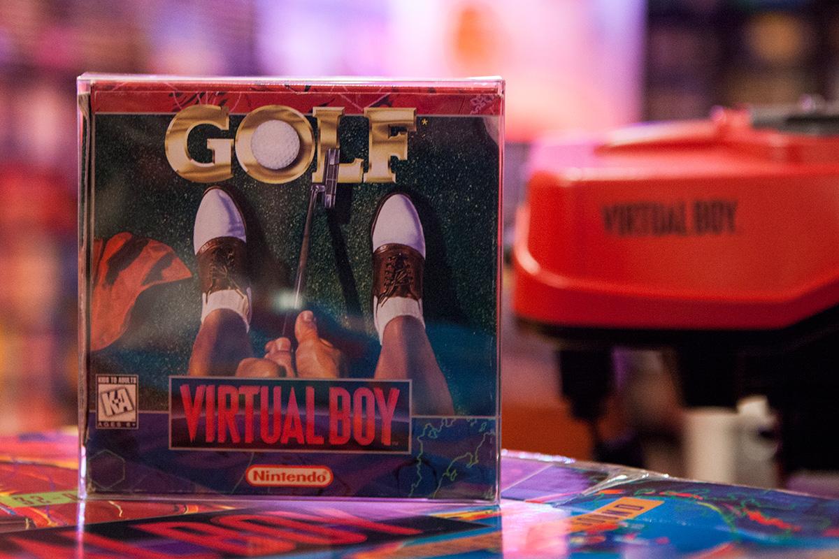 Golf - Virtual Boy