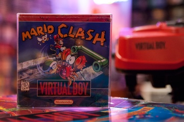Mario Clash - Virtual Boy