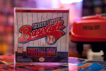 Virtual League Baseball - Virtual Boy