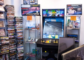 Retro games at Backlist Halmstad