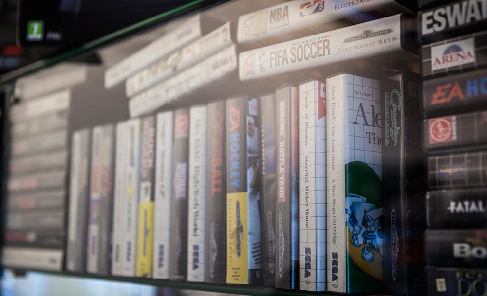 Sega Master System games at Blacklist Halmstad