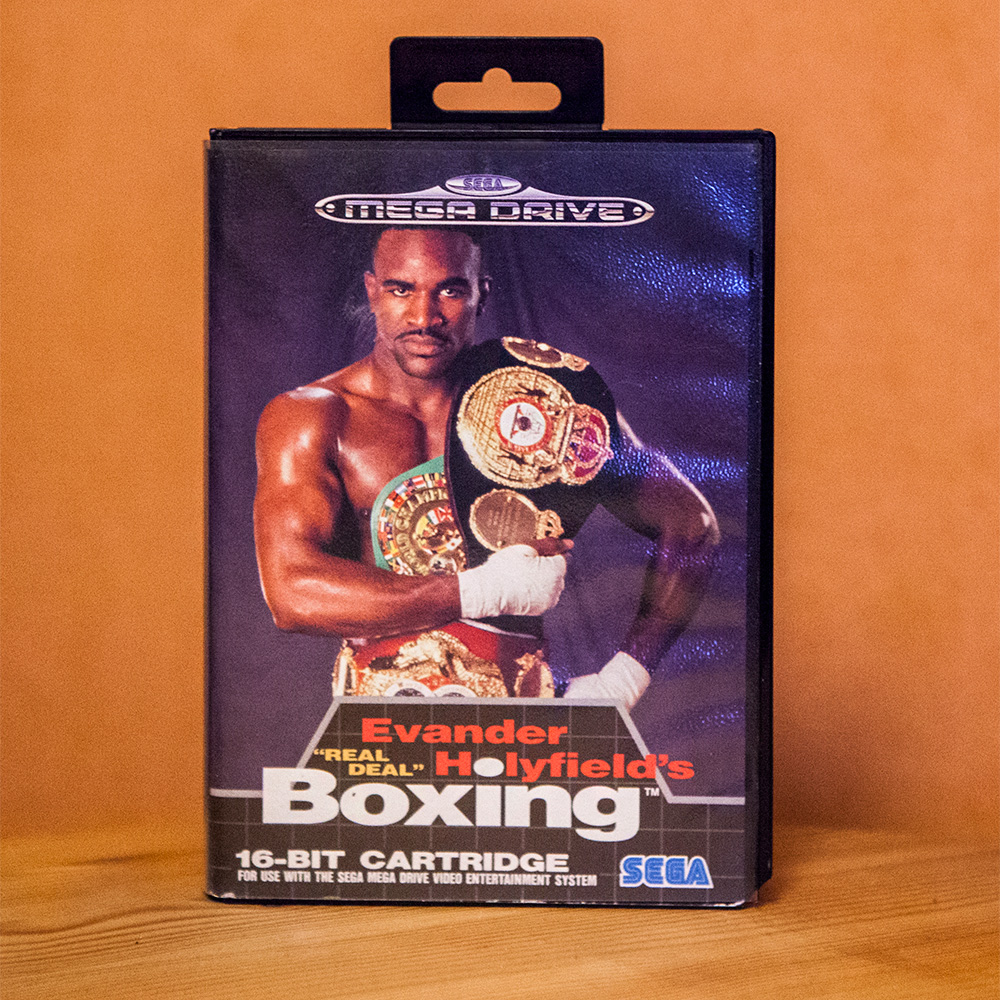 "Evander Holyfields ""Real Deal"" Boxing for Sega Mega Drive"