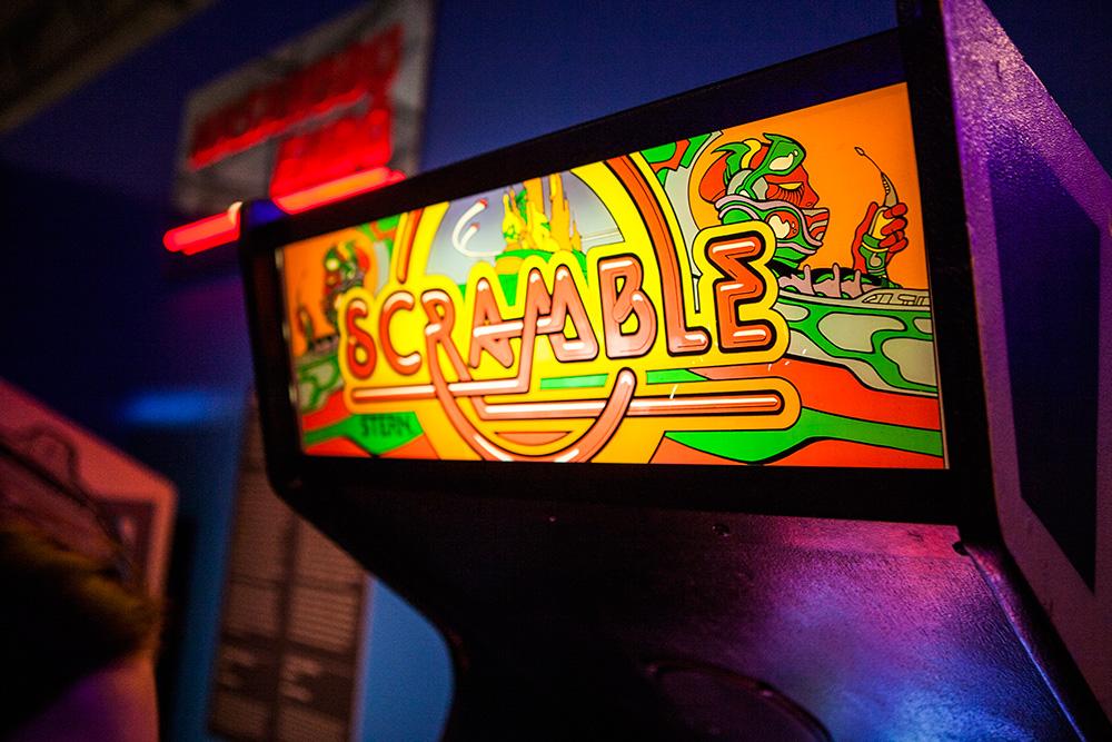 Scramble Arcade logo