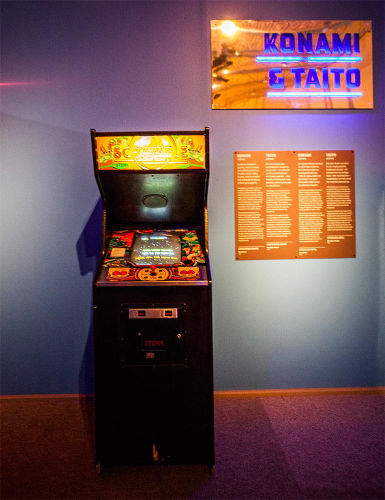 Scramble Arcade at Game Masters
