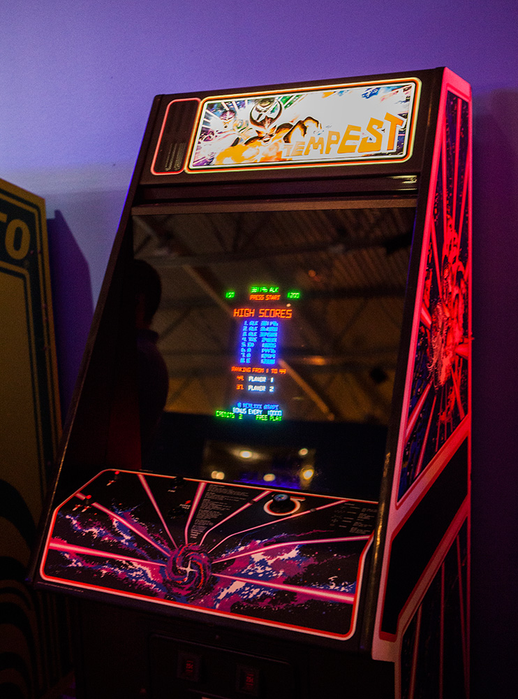 Tempest Arcade at Game Masters