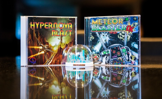 PC Engine - Hypernova Blast and Meteor Blaster DX