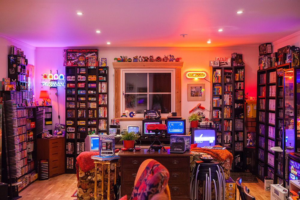 This is the retro games room of your dreams