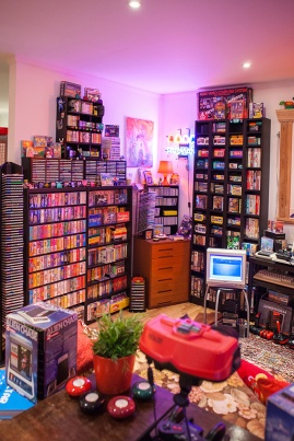 Heidi stopXwhispering's Retro Game Room
