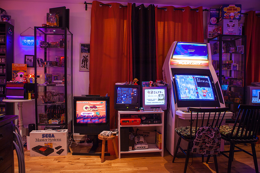 Sega Blast City arcade