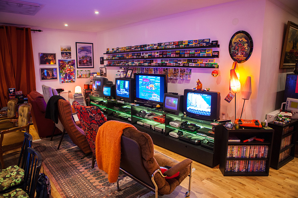 Heidi stopXwhisperings Retro Game Room setup Retro Video Gaming