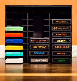 Atari 2600 cassette case