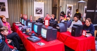 Gaming at Retro Gathering
