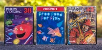 Philips Videopac Computer G7000 games 38, 43 and free food for fish