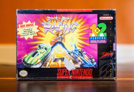 Rock n' Roll Racing - Super Nintendo