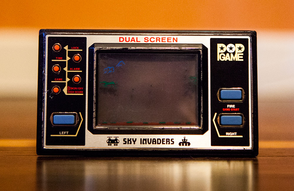 Sky Invaders handheld game
