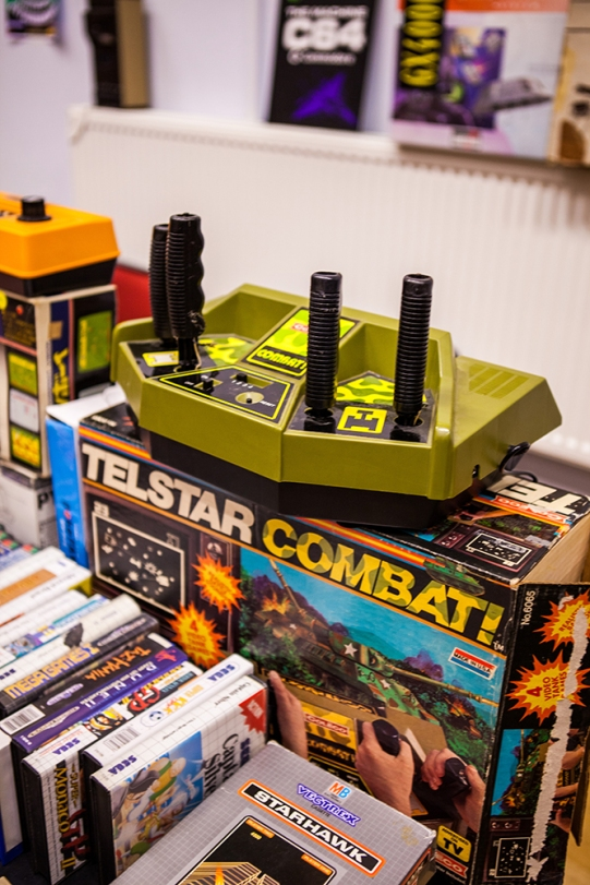 Telstar Combat retro console at Retro Gathering
