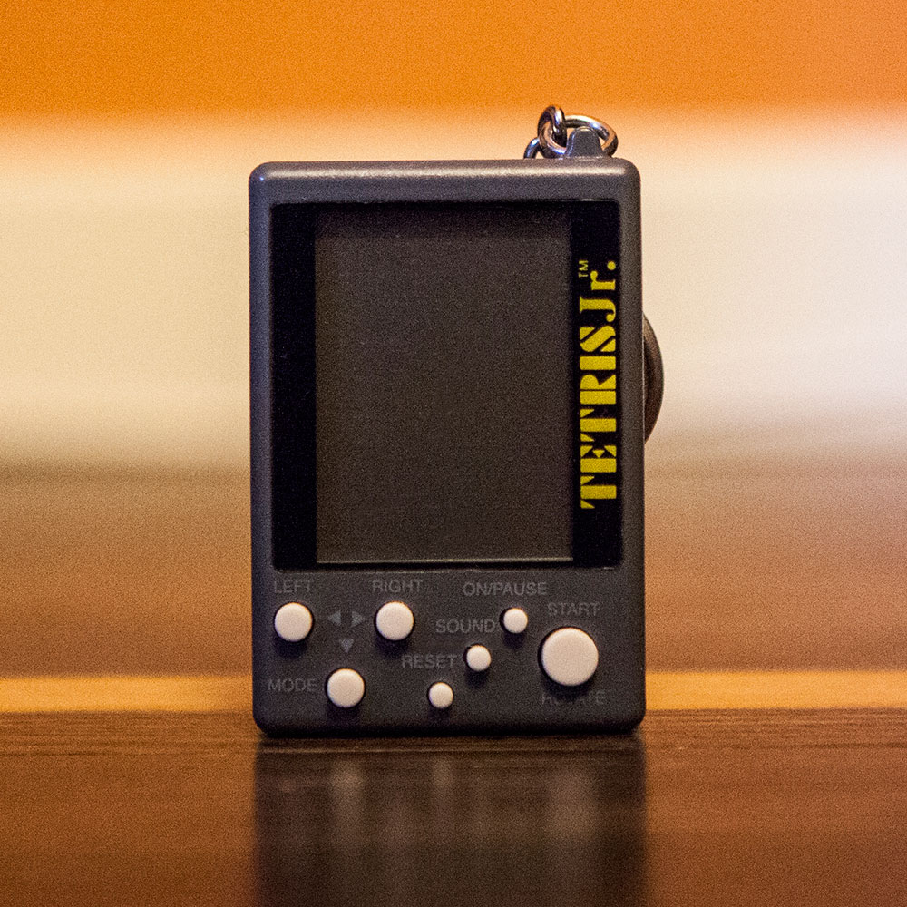 Tetris Jr keychain game