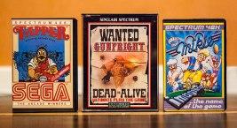 Tapper, Wanted Gunfright, Mikie - ZX Spectrum games